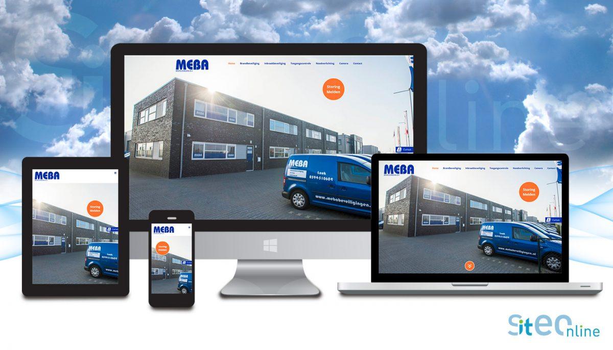 Nieuwe website Meba beveiligingen